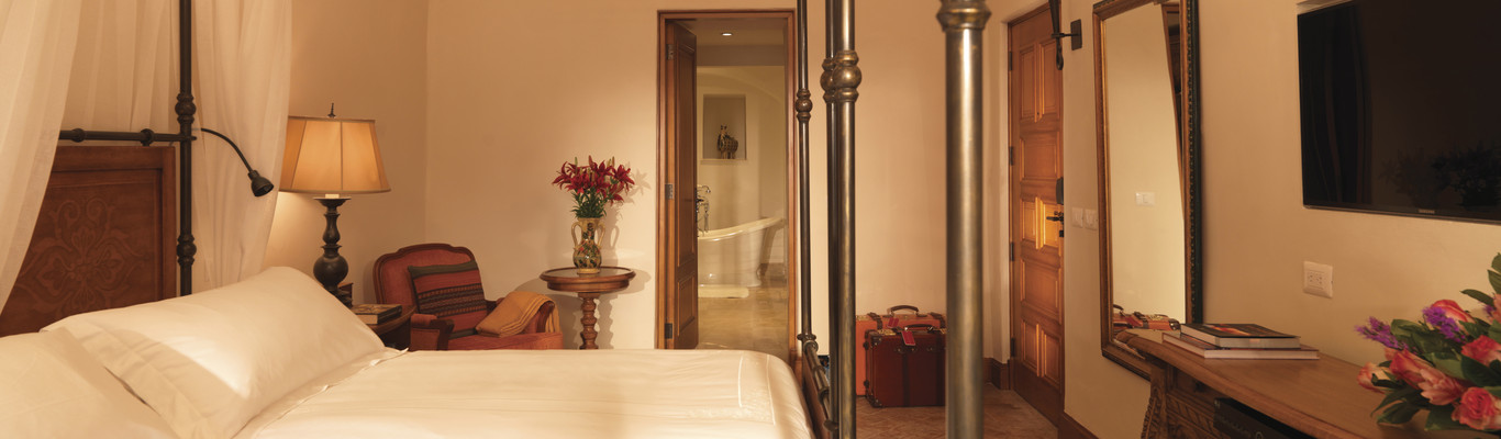 Exclusiva habitación en el Belmond Palacio Nazarenas