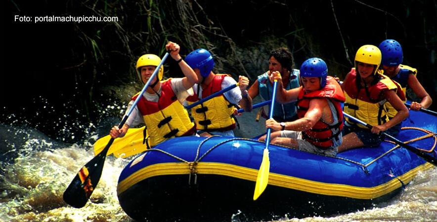 Rafting en el Valle Sagrado de los Incas