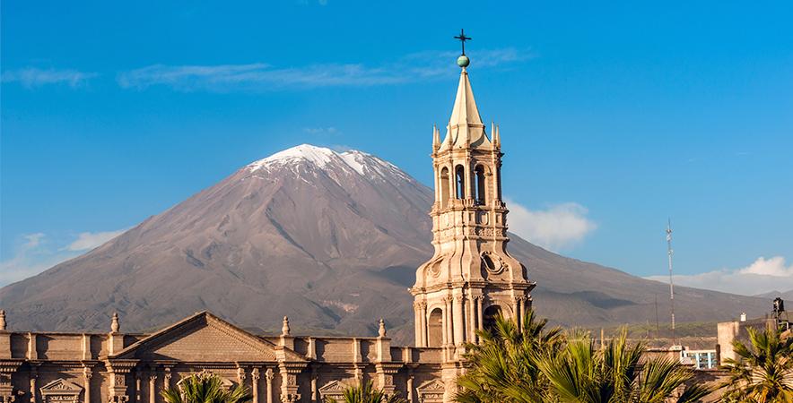 Cathedral Plaza de Armas Arequipa