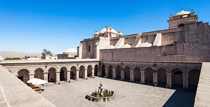 Cloister Compañía Church Plaza de Armas Arequipa