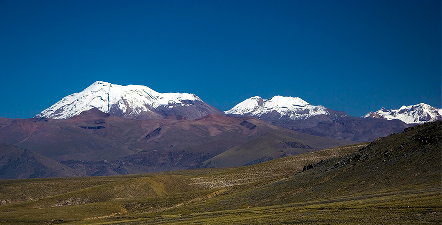 Volcan Ampato 6.288 m.s.n.m. Arequipa.