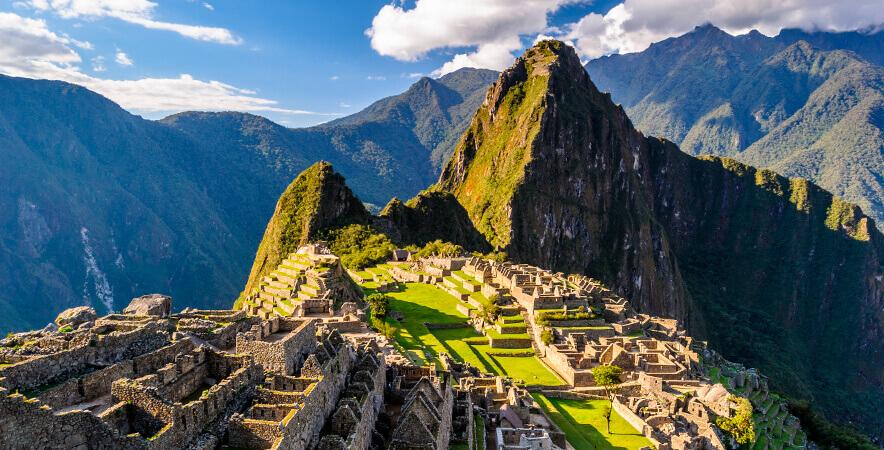 Machu Picchu city wonder of the world Cusco Peru