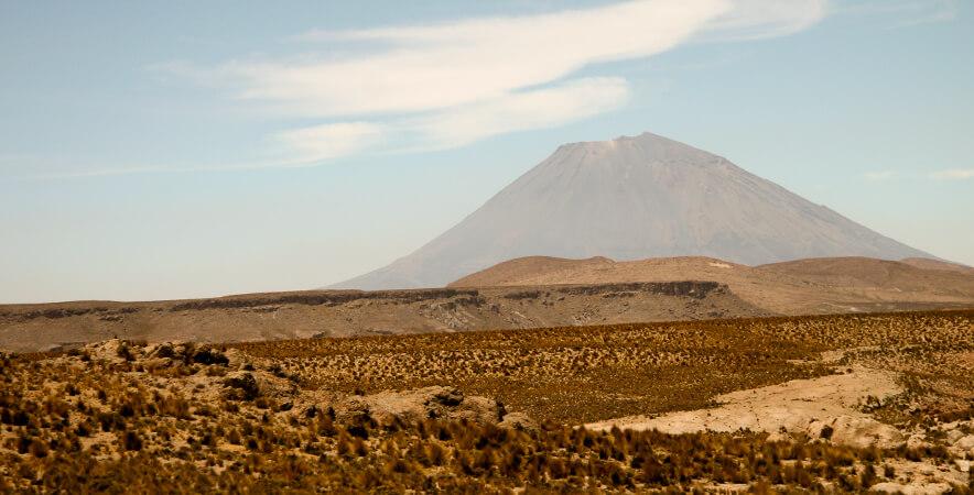 Misti Volcano National Reserve of Salinas and Aguada Blanca Sumbay Caves