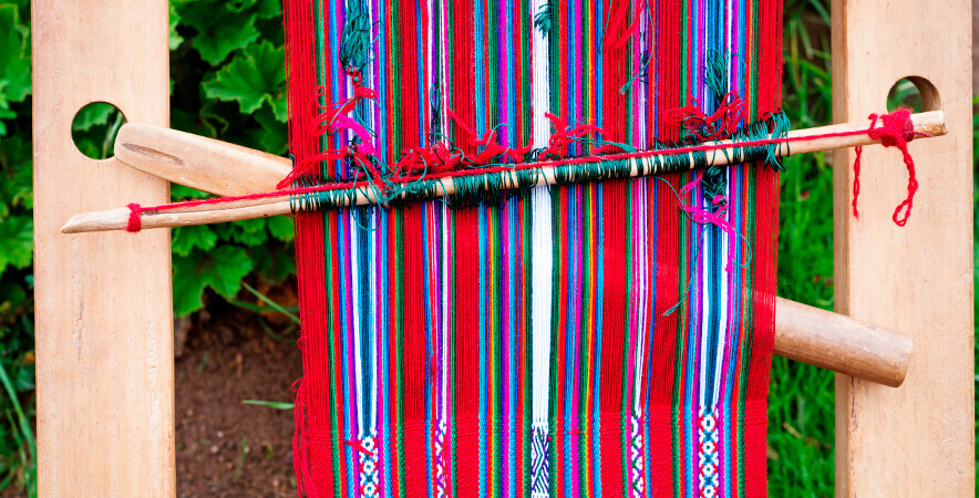 Weaved garments alpaca Puno