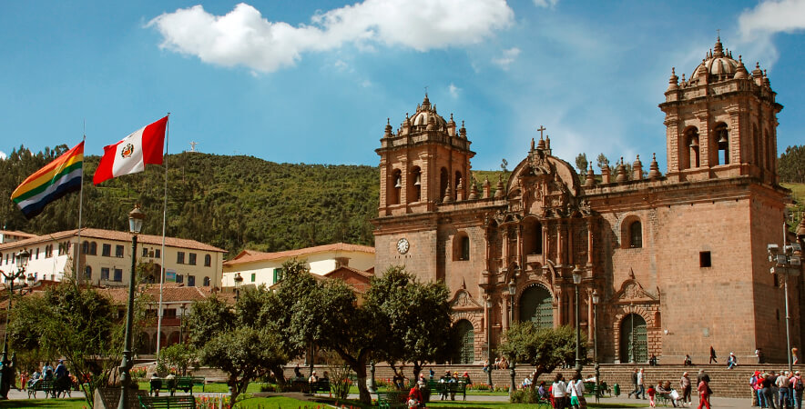 Plaza de Armas Cusco pasajes Machu Picchu