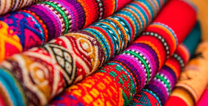 Prendas pobladores Taquile Puno